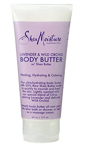 SheaMoisture Lavender & Wild Orchid Body Butter, 6 Ounce