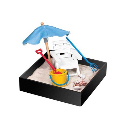 Be Good Company Executive Mini-Sandbox - Beach (Desk Gift)
