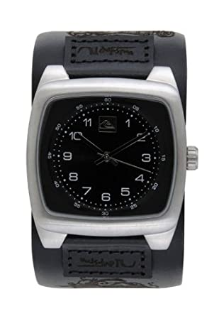 Quiksilver Checkmate Wide Watch - Black  Amazon.co.uk  Watches 9a2e2fc1117