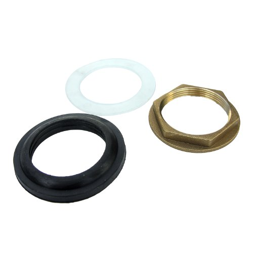 LASCO 03-1961 Rough Brass Material Pop Up Locknut and Seal Kit, 1 1/2-Inch by LASCO