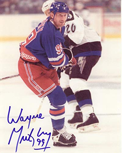 Wayne Gretzky - Reprint 8x10 inch Photograph - NEW YORK RANGERS NHL ()