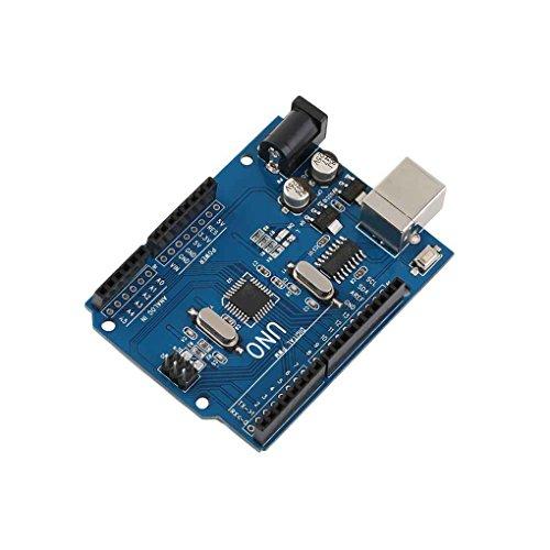 lidahaotin UNO R3 ATmega328P Conseil de développement avec chargeur de démarrage pour Arduino UNO UNO R3 ATmega328P 5V Kit de développement de pièces