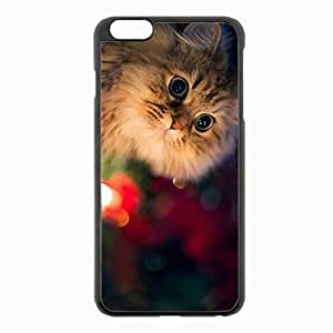 iPhone 6 Plus Black Hardshell Case 5.5inch - fluffy beautiful background Desin Images Protector Back Cover