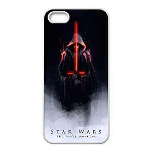 star war iPhone 5 5s Cell Phone Case White xlb-221038