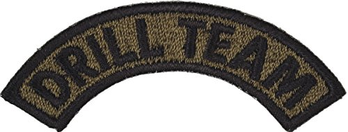 JROTC/ROTC Drill Team Tab Sew-On Patch ( - Rotc Drill Team Shopping Results