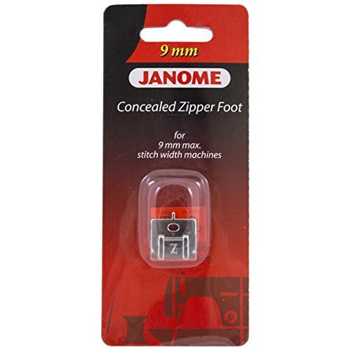 janome concealed zipper foot - 3