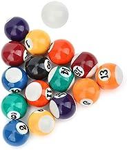 Mini Resin Billiard Balls Eco-Friendly Kids Billiard Ball Toy 16 Pcs 32mm Pool Table Billiard Training Cue Bal