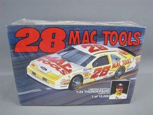 - Nascar Mac Tools Ernie Irvan 28 Thunderbird 1:24 Model Kit Limited Edition 1 of 10,000