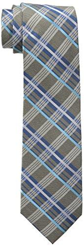 Ben Sherman Men's Bellenden Plaid Tie, Brown, One Size