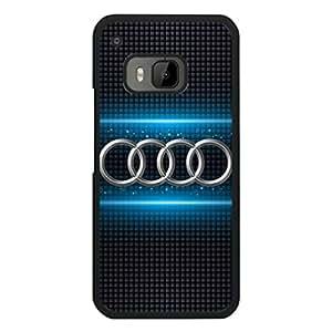 Audi Phone Funda,Luxury Car Phone Funda,Hard Plastic Phone Funda,Htc One M9 Phone Funda