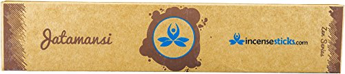 """Price comparison product image Hand-crafted 8"""" Jatamansi Zen Incense Sticks - 12 nos. in each box"""