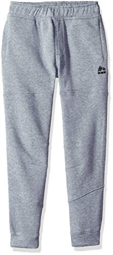 RBX Boys' Big Fleece Pant, Grey Heather Solid, ()