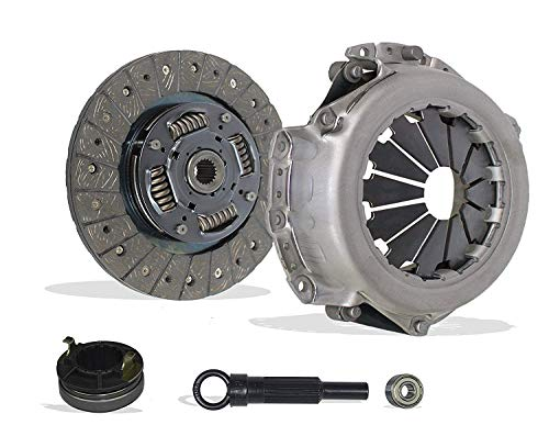 Clutch Kit Works With Hyundai Accent Kia Rio Base Lx Sx Gls Gs Se Hatchback Sedan 2006-2011 1.6L l4 GAS DOHC Naturally Aspirated