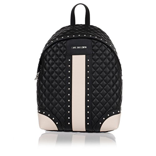 love-moschino-quilted-panel-backpack-black