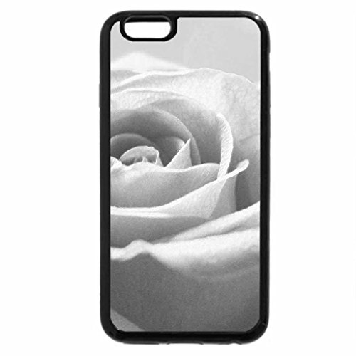 iPhone 6S Case, iPhone 6 Case (Black & White) - A Rose For Mom