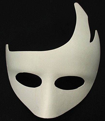 [ALL in ONE Blank White Mask Women Masquerade Mask for DIY Costume Party (#3 Caesar)] (Diy Costume)