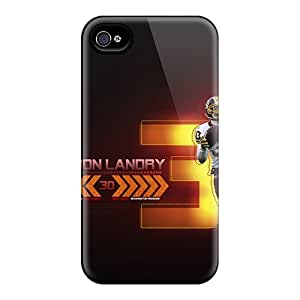 New Design Shatterproof GAf8510OQxx Cases For Iphone 4/4s (washington Redskins)
