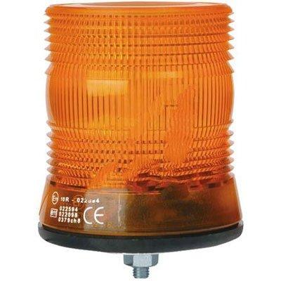 RS Pro 236363 Xenon Beacon Amber Flashing Surface Mount 10 - 100 Vdc