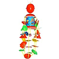 Samdivi Merry Go Round (Jhoomer) with Soothing Sound for Kids - Multi Color