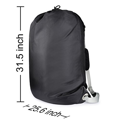 """Large Laundry Bag『36""""X26""""』,VDS Large Laundry Backpackwith 2 Strong Adjustable Shoulder Straps College Laundry BagLaundry Clothes Bag for Heavy Duty Use-Trips to Laundromat-Household Storage by VDS (Image #1)"""