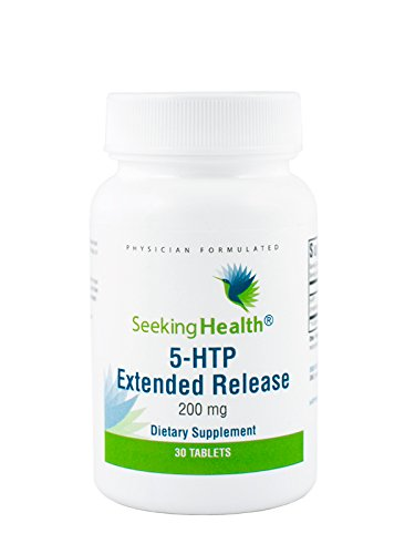 Seeking Health | 5-HTP Extended Release | 5-Hydroxytryptophan supplement | 200 mg | 30 Vegetarian Tablets ()
