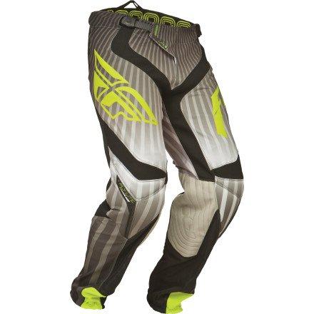Fly Racing Mens Lite Hydrogen Pants 2014 US 30 Black Grey