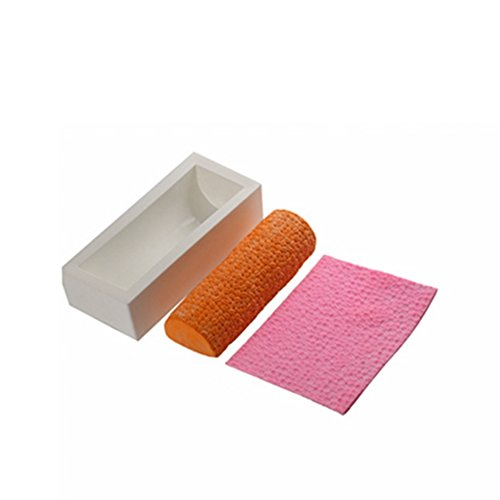 Cretive Silicone Mousse Mat Pad Mould Cake Mold Jelly Pudding Moule Baking Tools DIY Design Cookie Muffin Random Color (1 x mat and 1 x mold)