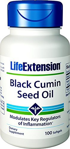 (Life Extension Black Cumin Seed Oil Softgels, 100 Count)