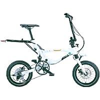 Jango Flik V9 Vélo pliable Blanc Taille unique 150-190 cm