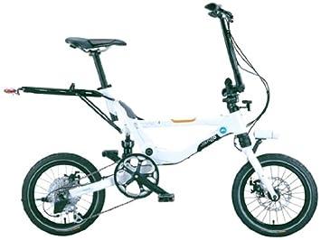 Jango Flik V9 - Bicicleta, color negro