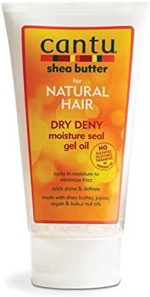 Hair Styling: Cantu Shea Butter Dry Deny Moisture Seal Gel Oil