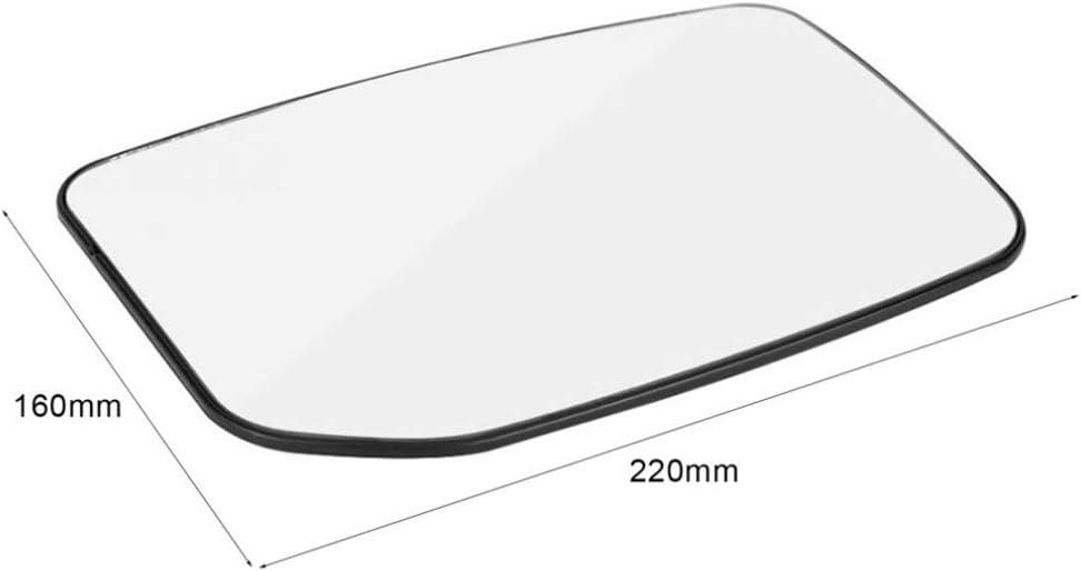 Republe Reemplazo Frontal del Lado Izquierdo del ala Espejo retrovisor de Cristal para Ford Transit 2000-2013 4059969 YC15-17K741-BA