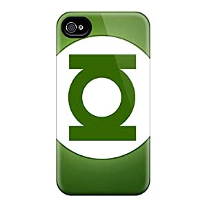New Arrival Cover Case With Nice Design For Iphone 4/4s- Green Lantern
