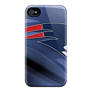 Apple Iphone 4/4s Euo22208IQWz Provide Private Custom Beautiful New England Patriots Skin Durable Cell-phone Hard Cover -LeoSwiech