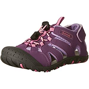 Kamik Oyster Sandal (Toddler/Little Kid/Big Kid), Purple, 3 M US Little Kid