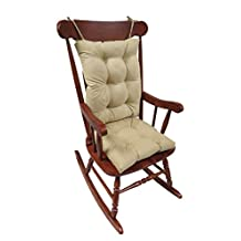 The Gripper Non-Slip Rocking Chair Cushion Set Honeycomb, X-Large, Natural