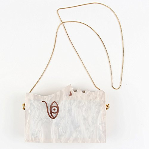 Shoulder Handbag For Bag Clutch Acrylic Wedding Wooden Evening Party Clubs Bags COHaTwq