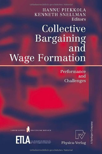 Download Collective Bargaining and Wage Formation Pdf