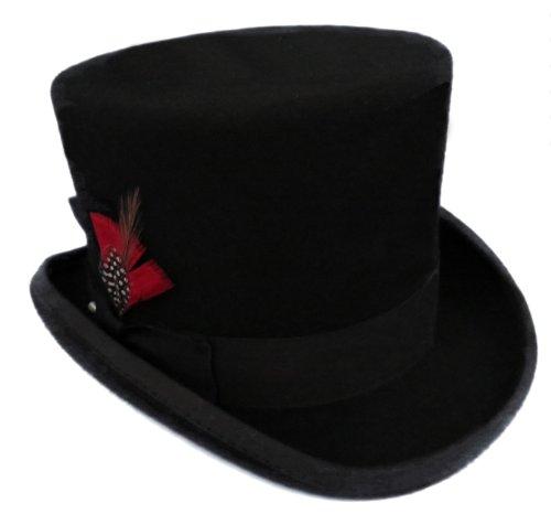 Black (Felt Top Hat)