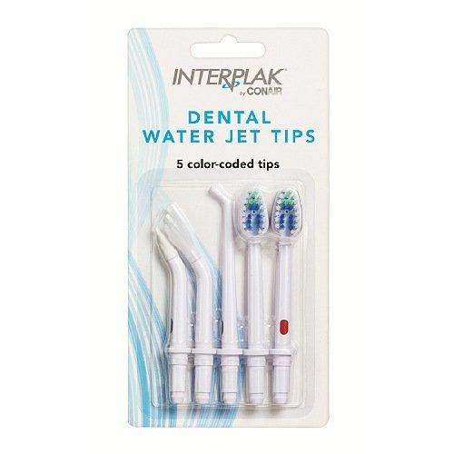 (Interplak Dental Water Jet Tips 5 ea)