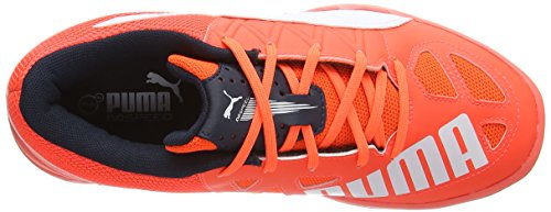 Adulte Blast Indoor 5 Puma 4 Multisport lava Mixte Chaussures white Orange Evospeed Eclipse total Y1wTqU