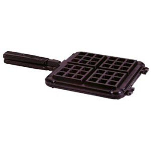 Nordic Ware International Specialties Heavy Cast Aluminum Original Stovetop Belgian Waffler