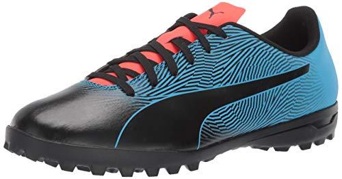 PUMA Men's Spirit II TT Sneaker, Black-bleu Azure-red Blast, 7 M US (Best Street Soccer Shoes)