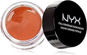 NYX Professional Makeup Concealer Jar, Orange, 0. 25 Oz.