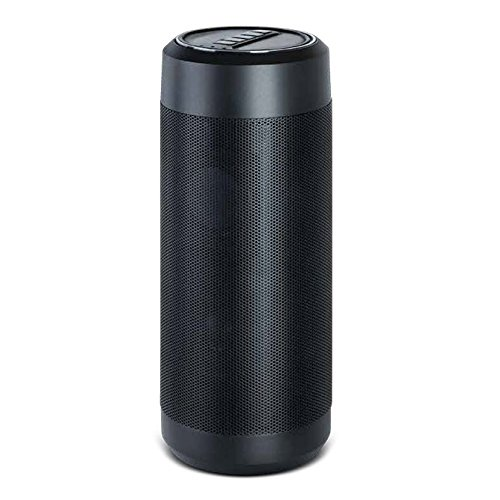 Alexa Powered Buddy Wireless Bluetooth Wi Fi Speaker With Amazons Alexa Voice Activation Recognition Cloud Connection Stream Music 3 5Mm Aux Jack Iphone  Android And More Black