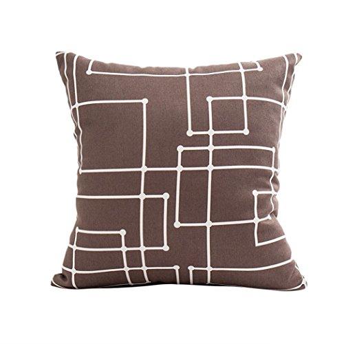- JULYKI Fashion Simplicity Pillowcase, Polyester Pillow Sofa Waist Throw Cushion Cover Home Decor Cushion Cover Case 2018 A