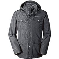 Eddie Bauer Rainfoil Utility Men's Jacket (Black, Indigo or Smoke)