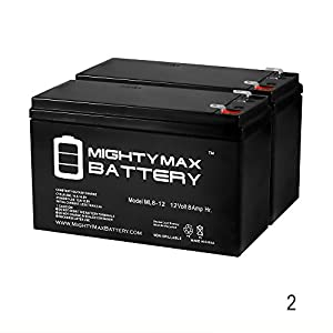 12V 8Ah Razor Pocket Rocket 155001 PR200, PR 200 Battery - 2 Pack - Mighty Max Battery brand product