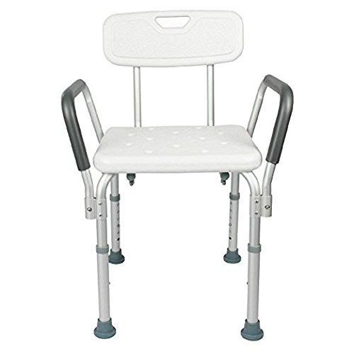 CTKcom Shower Chair with Back, Best Bathtub Chair for Han...