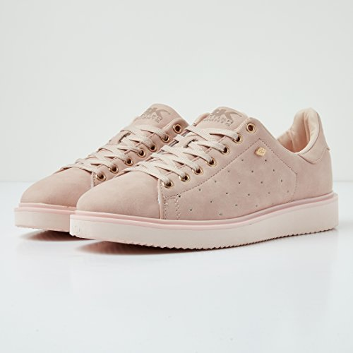 British Bassa VECCHIO Donne Knights ROSA Sneakers Glow rwwqT4ng0